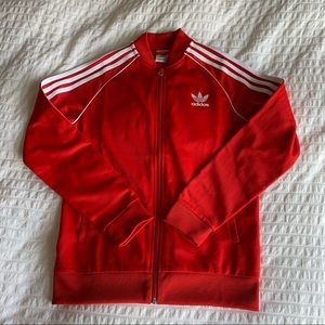 Red Adidas Jacket
